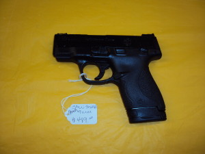 S&W M&P SHIELD 9MM (PORTED BARRELL)