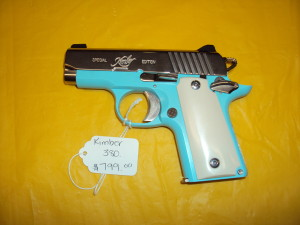 KIMBER SPECIAL EDITION .380