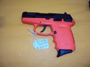 SCCY CPX-1 9MM (MANY COLOR OPTIONS)
